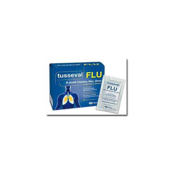 TUSSEVAL FLU 12 BUSTINE SOLUB