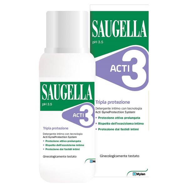 SAUGELLA ACTI3 DET INTIMO250ML