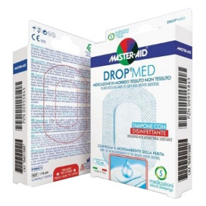 M-AID DROP MED 12,5X12,5 5P
