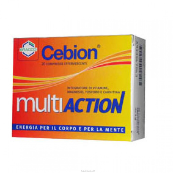 CEBION MULTIACTION 20CPR EFFERVESCENTE