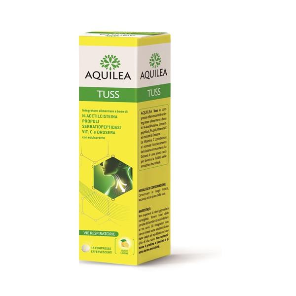 AQUILEA TUSS 15CPR EFFERV 90G