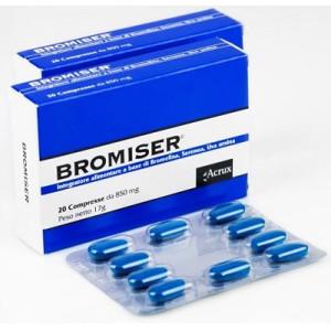 BROMISER 20CPR 850MG