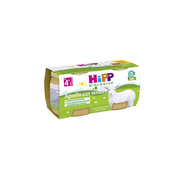HIPP BIO OMOG AGNELLO 80G 2PZ