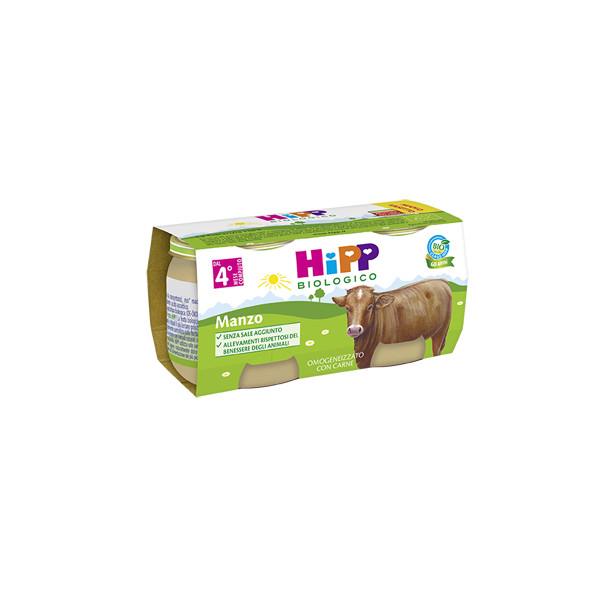 HIPP BIO OMOG MANZO 2X80G