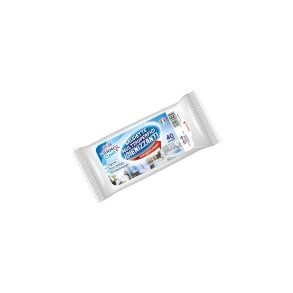 GERMOL CLEAN SALVIETTE MULTISUPERFICI IGIENIZZANTI