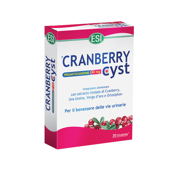 CRANBERRY CYST 30 OVALETTE