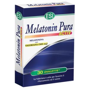 MELATONIN PURA ACTIV 30OVALETT