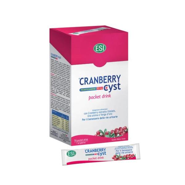 CRANBERRY CYST POCK DRINK 16BU