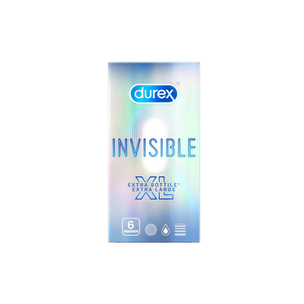 DUREX INVISIBLE XL 6PZ