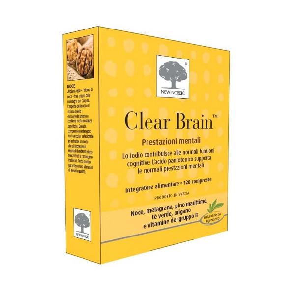 CLEAR BRAIN 120CPR