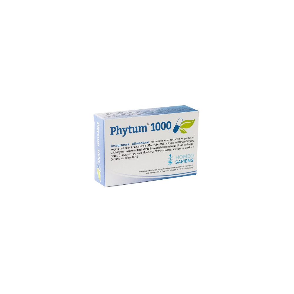 PHYTUM 1000 30CPS 500MG