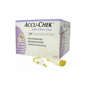 ACCU-CHEK SAFE T-PRO UNO 200PZ