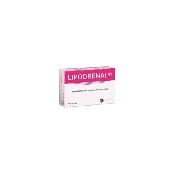 LIPODRENAL 60CPR