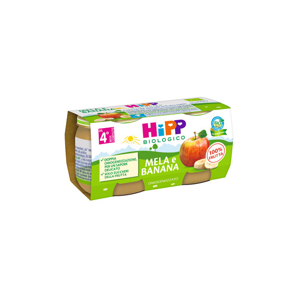 HIPP OMOG MELA/BANANA 2X80G
