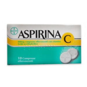 ASPIRINA C%10CPR EFF 400+240MG