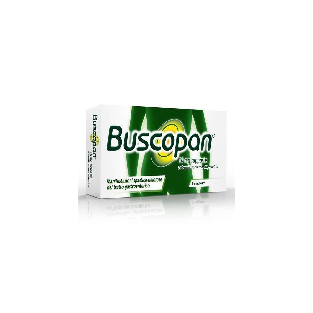BUSCOPAN%6SUPP 10MG