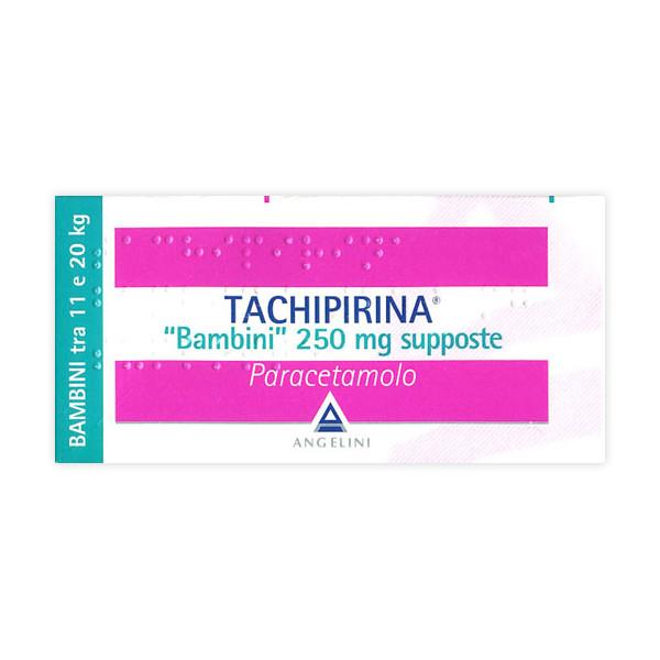 TACHIPIRINA%BB 10SUPP 250MG