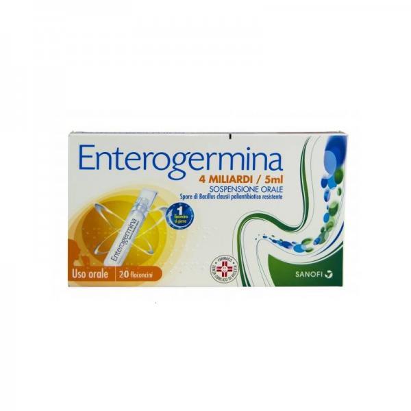 ENTEROGERMINA%OS 20FL 4MLD 5ML