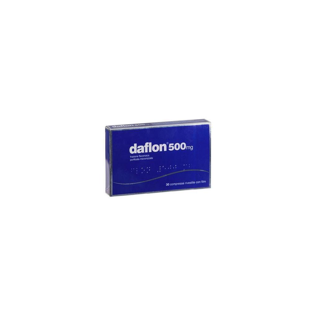 DAFLON%30CPR RIV 500MG
