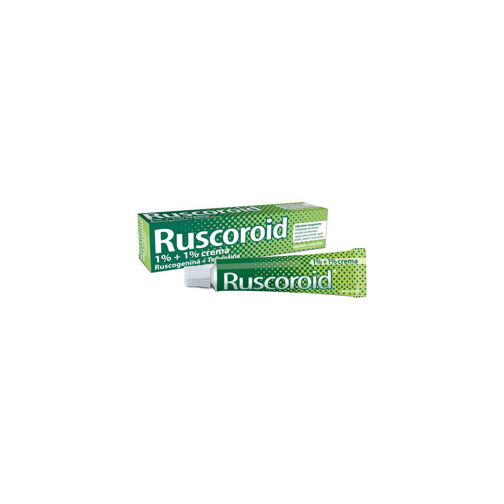 RUSCOROID%RETT CREMA 40G 1%+1%