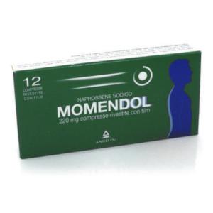 MOMENDOL%12CPR RIV 220MG