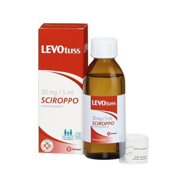 LEVOTUSS%SCIR 200ML 30MG/5ML