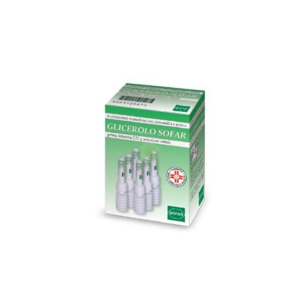 GLICEROLO SOFAR%6CONT 2,25G