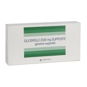 GLICEROLO ACR%AD 18SUPP 2250MG