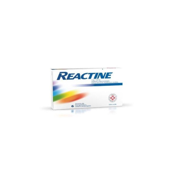 REACTINE%6CPR 5MG+120MG RP
