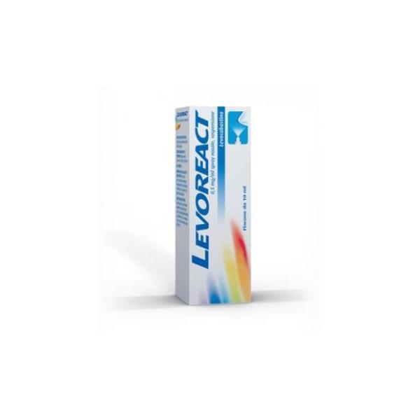 LEVOREACT%SPRAY NAS 10ML 0,5MG