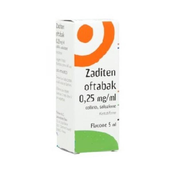 ZADITEN OFTABAK%COLL FL 5ML