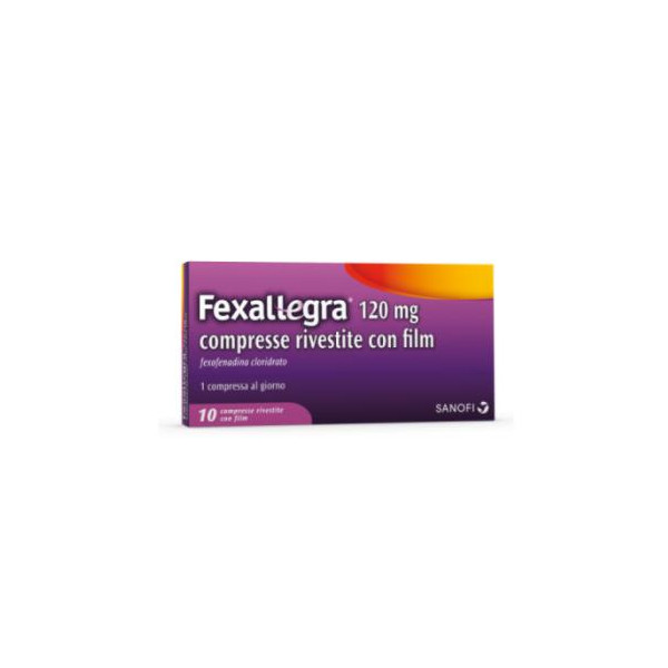 FEXALLEGRA%10CPR RIV 120MG