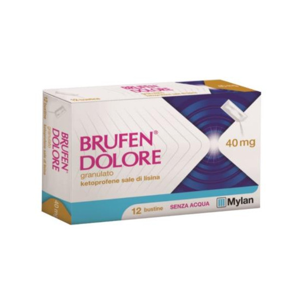 BRUFEN DOLORE%OS 12BUST 40MG