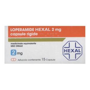 LOPERAMIDE HEXAL%15CPS 2MG