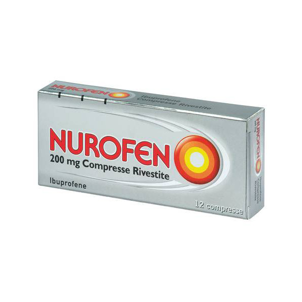 NUROFEN%12CPR RIV 200MG
