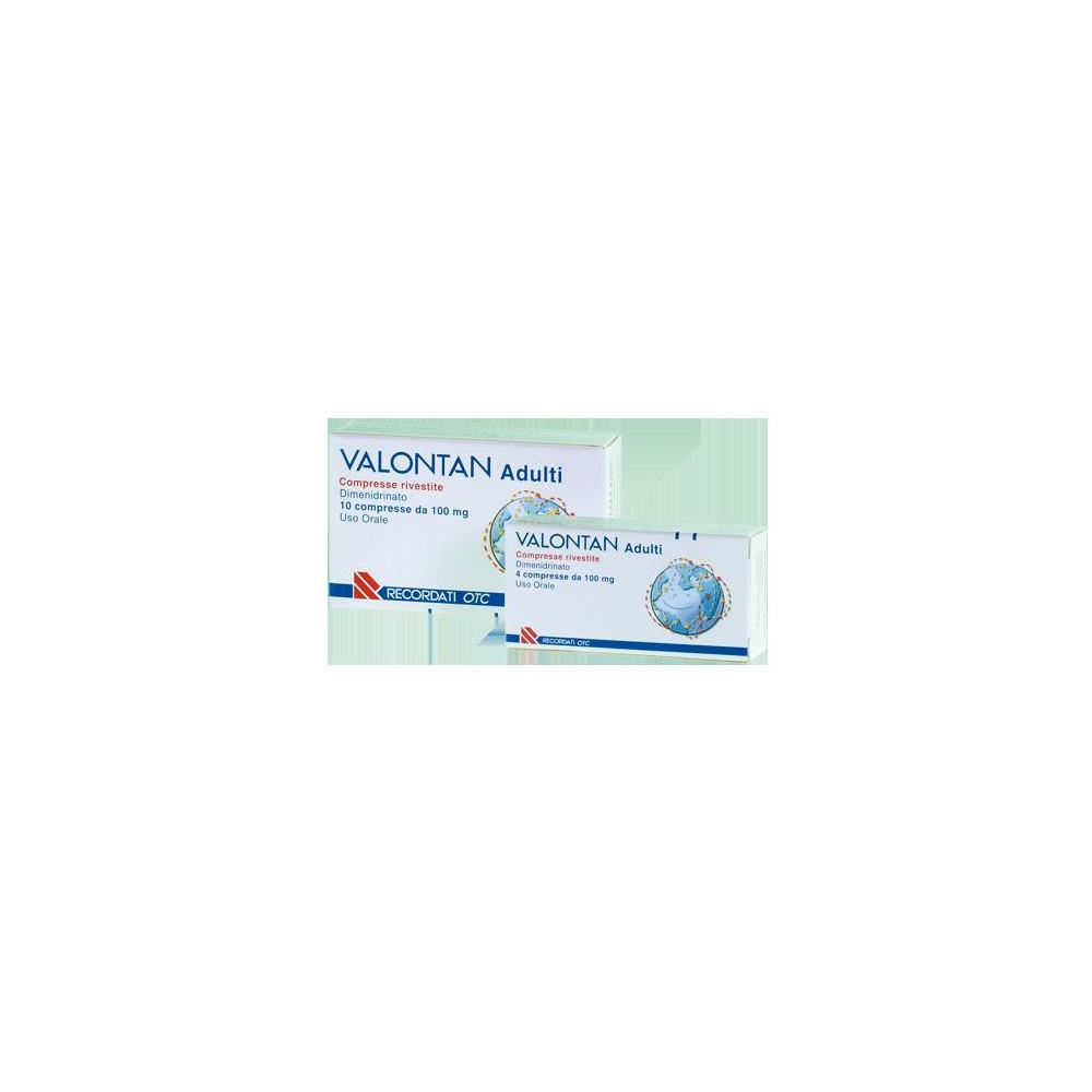 VALONTAN%10CPR RIV 100MG