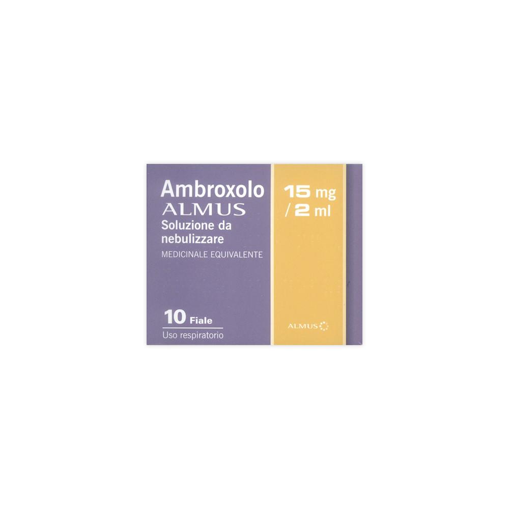 AMBROXOLO ALM%NEB 10F 15MG 2ML