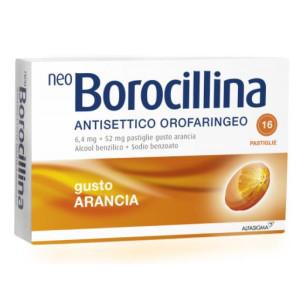 NEOBOROCILLINA ANTISETTICO OR%16 PASTIGLIE ARANCIA