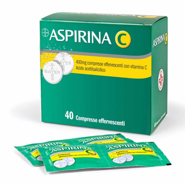 ASPIRINA C%40CPR EFF 400+240MG