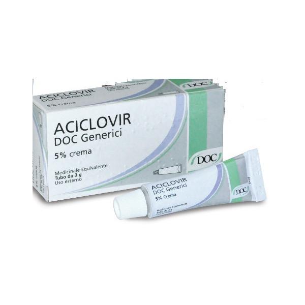 ACICLOVIR DOC%CR 3G 5%