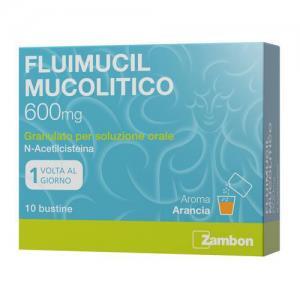 FLUIMUCIL MUC%OS 10BUST 600MG