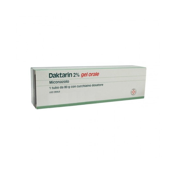 DAKTARIN%GEL ORALE 80G 20MG/G