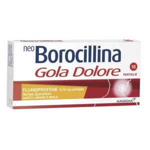 NEOBOROCILLINA GOLA DOLORE 16PST LIMONE E MIELE S/Z