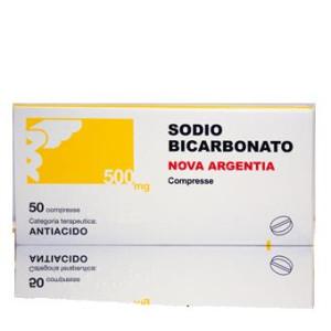 SODIO BICARB%50CPR 500MG