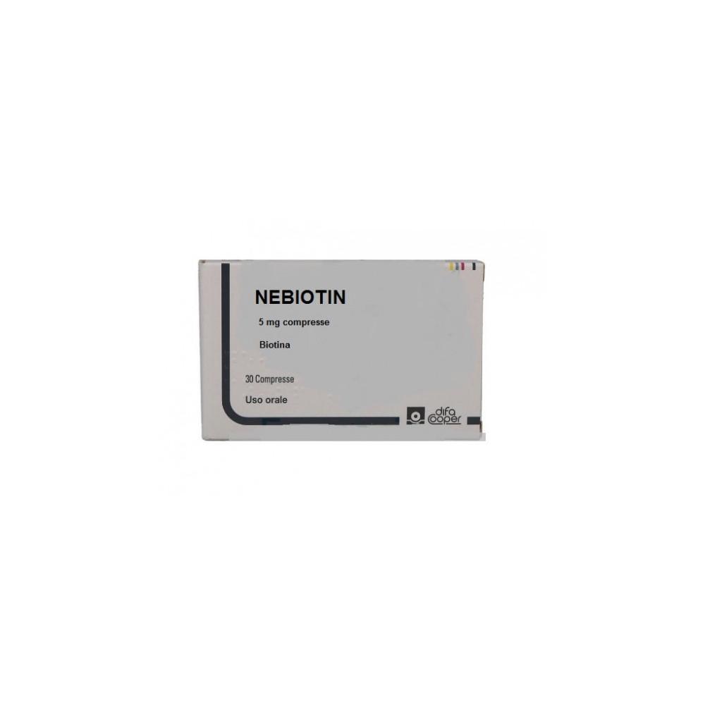 NEBIOTIN%30CPR 5MG