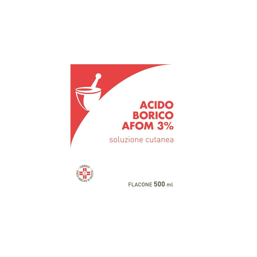 ACIDO BORICO AFOM%3% 500ML