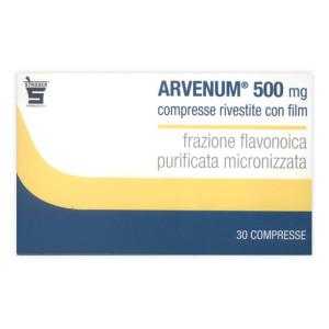 ARVENUM 500%30CPR RIV 500MG