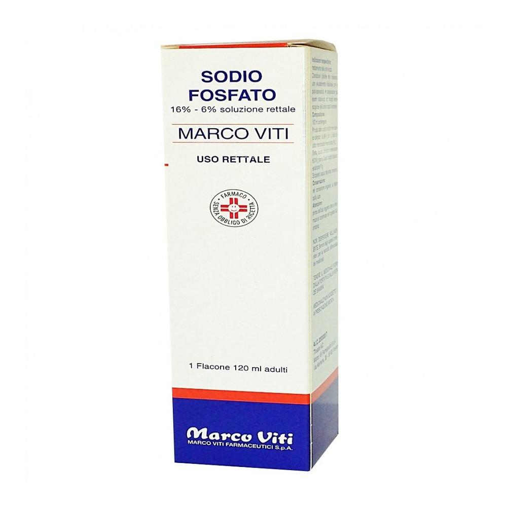 SODIO FOSFATO MV%RETT 120ML