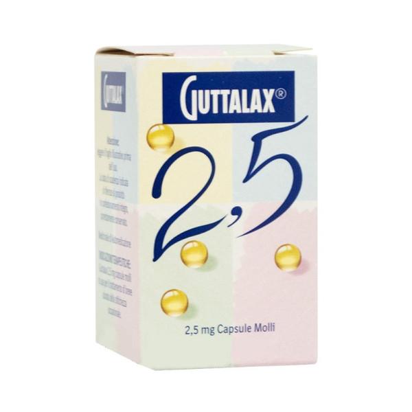 GUTTALAX%30CPS MOLLI 2,5MG