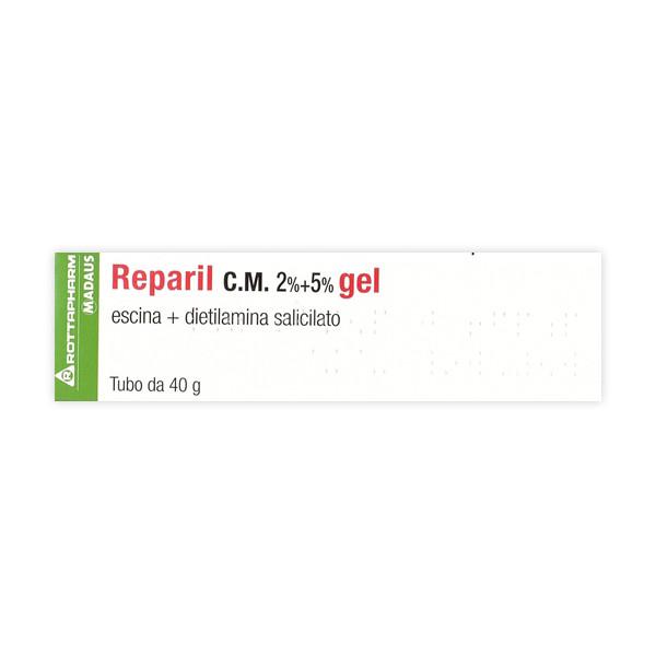 REPARIL GEL CM%40G 2%+5%